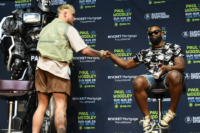 Tyron Woodley has silenced claims that he will