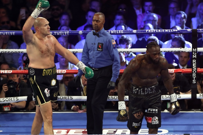 Tyson Fury reclaims 'throne' with dominant performance over Deontay Wilder