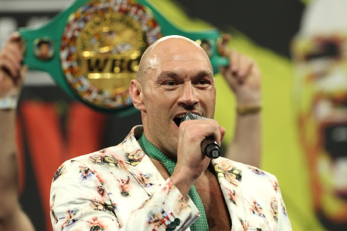 Tyson Fury rules out Anthony Joshua fight, open to Deontay Wilder trilogy