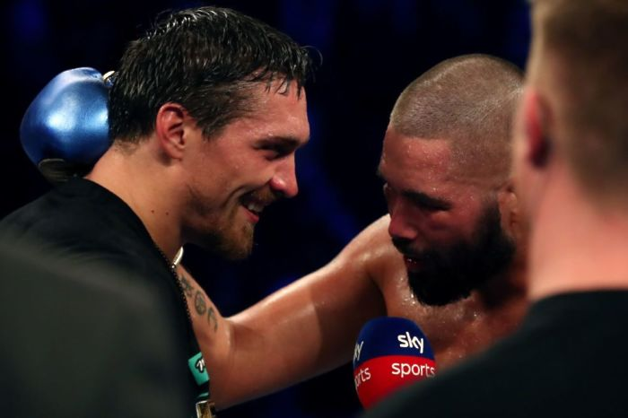 Tony Bellew does not think that Oleksandr Usyk could ever beat Anthony Joshua or Tyson Fury
