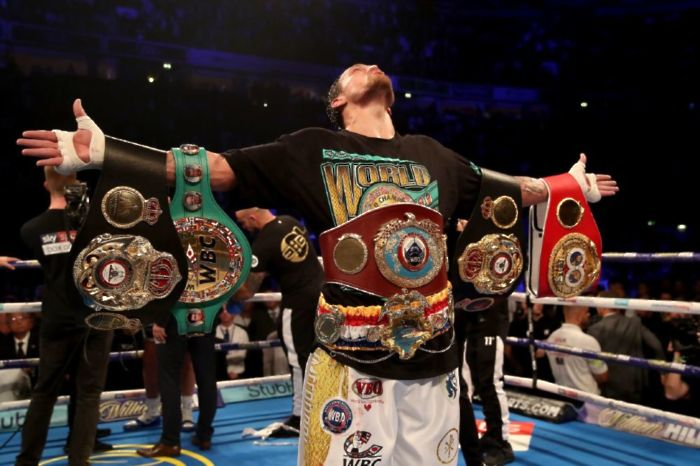 A look at the heavyweight division as Oleksandr Usyk enters the fray