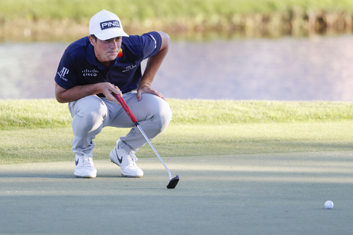 Hovland is on the rise in world golf.