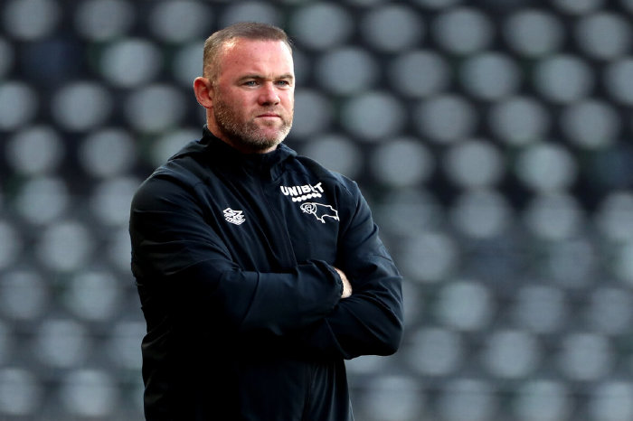 Derby County boss Wayne Rooney
