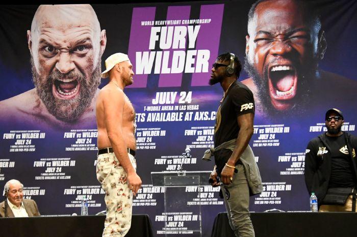 Tyson Fury vs Deontay Wilder lined up for July 24 in Las Vegas