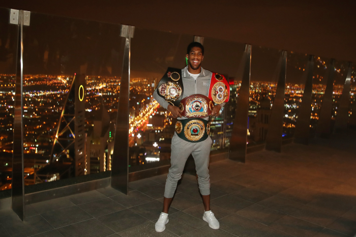 Anthony Joshua regained his belts in Saudi Arabia by defeating Andy Ruiz Jr