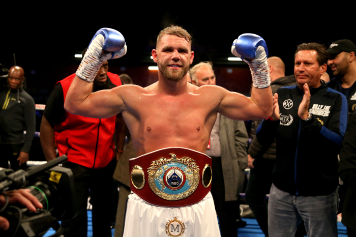 Eddie Hearn has offered his backing to Billy Joe Saunders ahead of his unification fight against Saul Canelo Alvarez