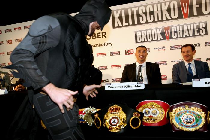 Tyson Fury defeated Wladimir Klitschko in 2015