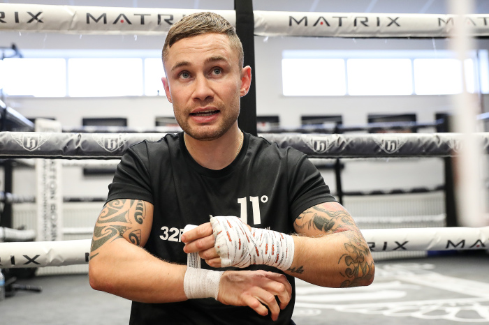 Carl Frampton is bidding to become Ireland's first three-division world champion next weekend in Dubai.
