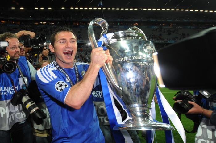 Chelsea legend Frank Lampard Champions League winner