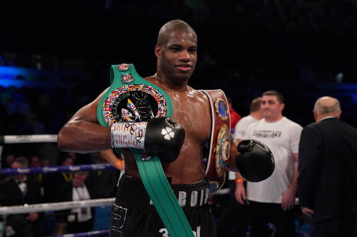 Daniel Dubois is back in action this weekend as he faces Joe Cusumano on the Jake Paul v Tyrone Woodley undercard