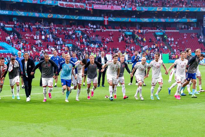 Denmark celebrate another win