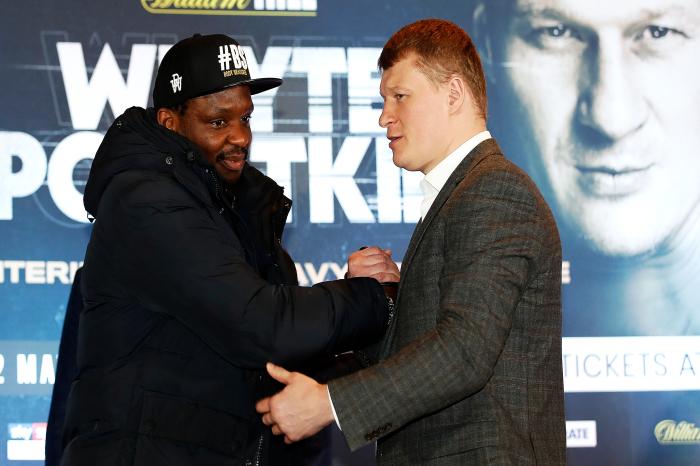 Dillian Whyte wants world heavyweight title shot if he beats Alexander Povetkin