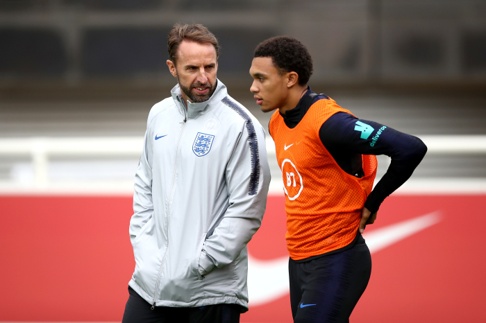 Gareth Southgate: Has been tipped to overlook Alexander-Arnold