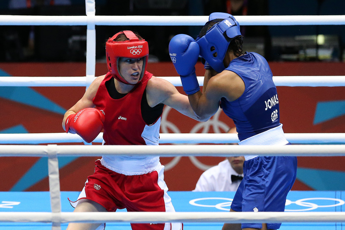 Katie Taylor and Natasha Jonas to reprise Olympic rivalry in May showdown