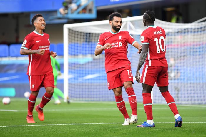 Liverpool's front three