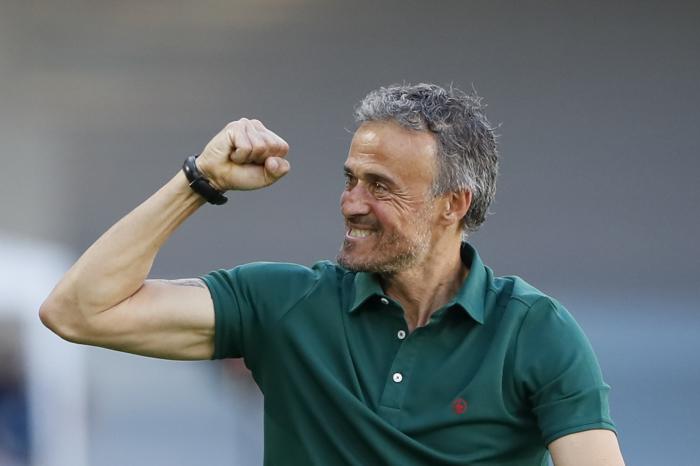 Spain coach Luis Enrique