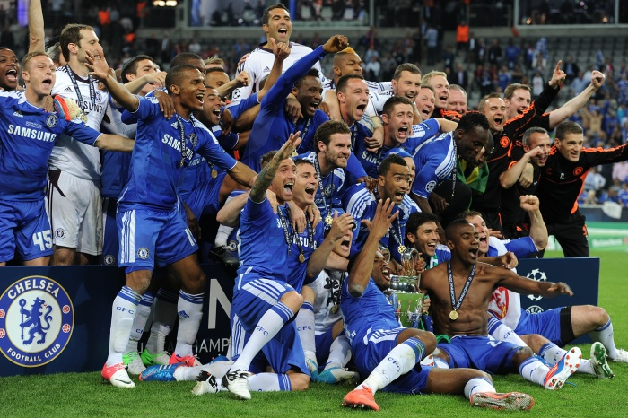 Chelsea defeated Bayern Munich in 2012 on penalties