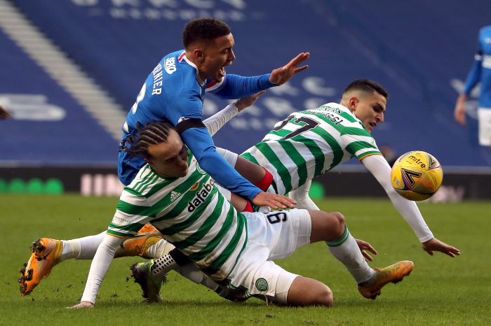 Celtic will be looking to end Rangers' unbeaten league run