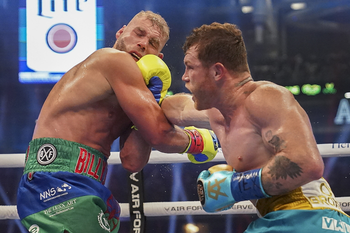 Dallas, Texas sets record for boxing attendance for Canelo vs Saunders