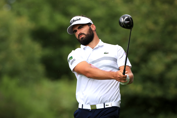 Antoine Rozner caused the shock of the day on his PGA Tour debut