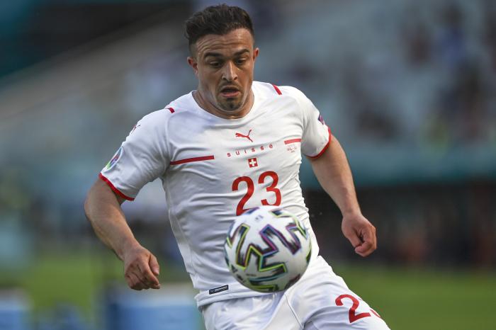 Xherdan Shaqiri for Switzerland