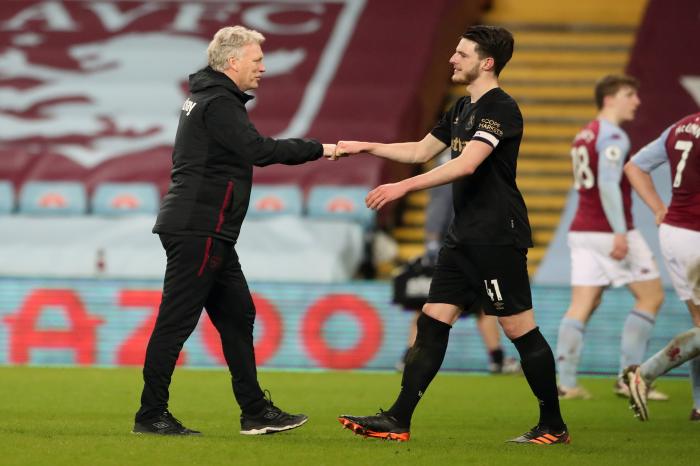 Declan Rice is on Manchester City's radar