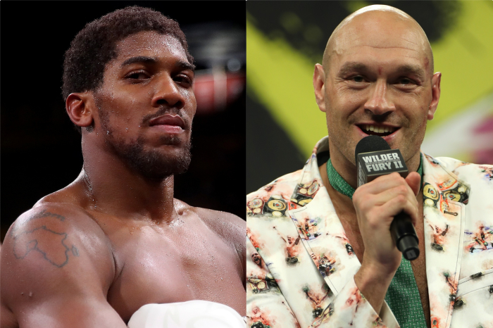 Date, location and time confirmed for Anthony Joshua vs Tyson Fury