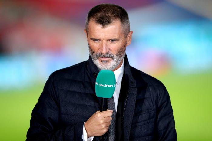 Roy Keane on pundit duty