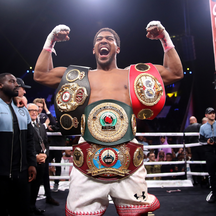 Anthony Joshua hits back at Deontay Wilder over excuses