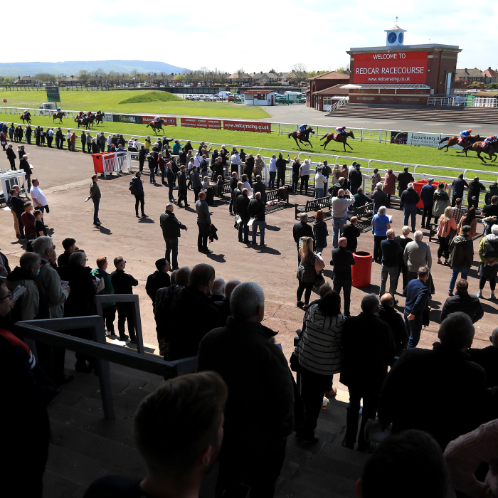 Redcar welcomed spectators once again in March