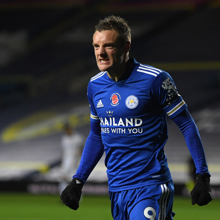 Jaime Vardy looking to continue his good run against Arsenal