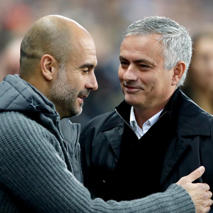 Pep Guardiola and Jose Mourinho renew their historic rivalry
