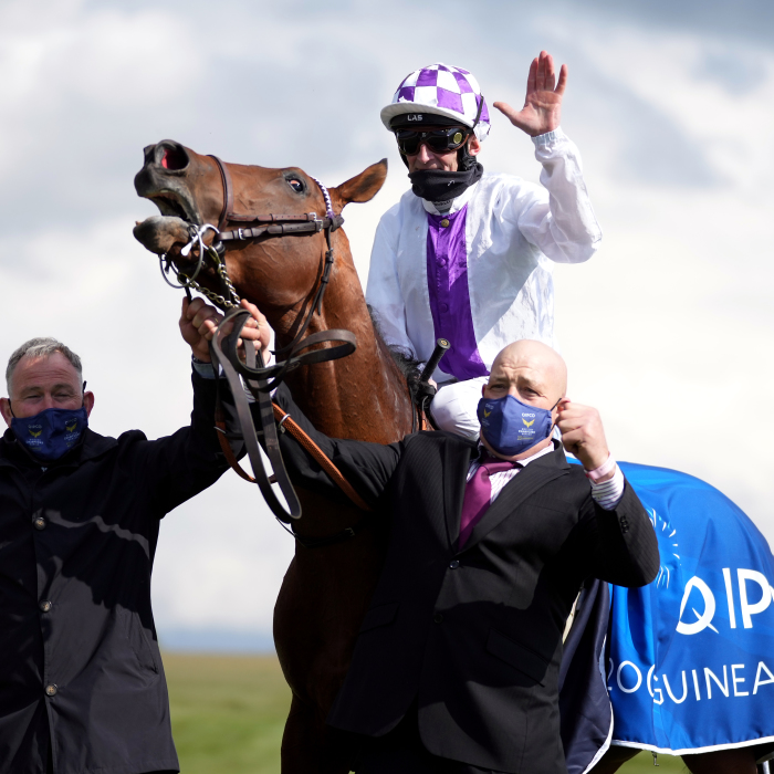 Poetic Flare at the 2,000 Guineas