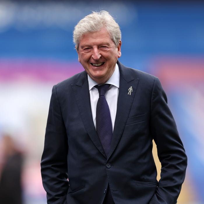 Roy Hodgson at Crystal Palace