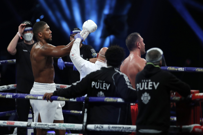 5 things we learned from Anthony Joshua's victory over Kubrat Pulev