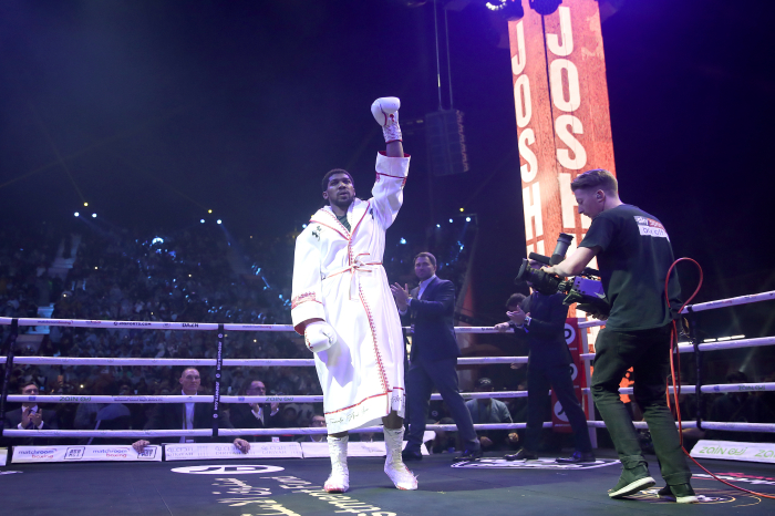 Anthony Joshua confirms he will not take the knee ahead of Kubrat Pulev fight