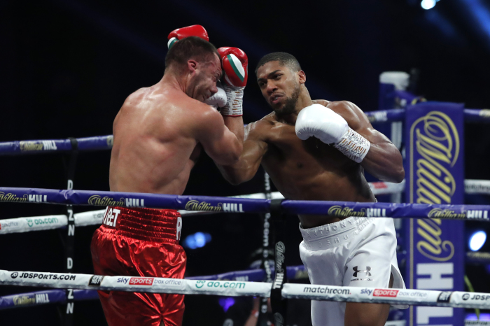 Anthony Joshua's 'less talk, more action' mantra pays dividends