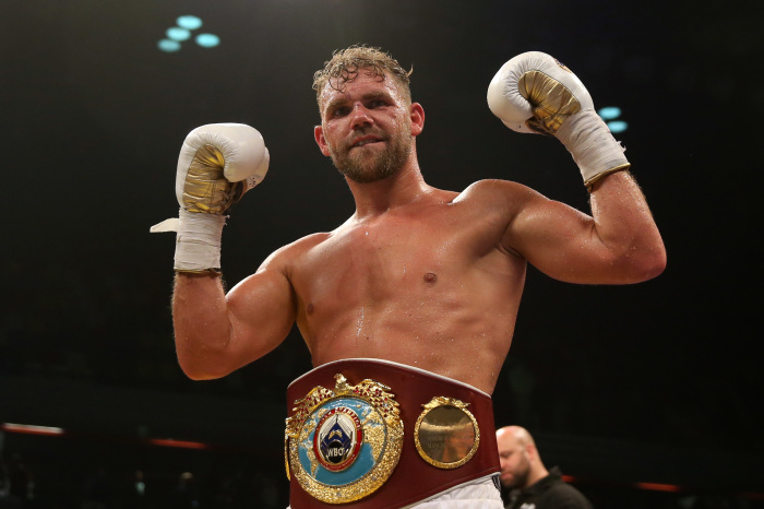 Billy Joe Saunders wants to retire Martin Murray before targeting major fights