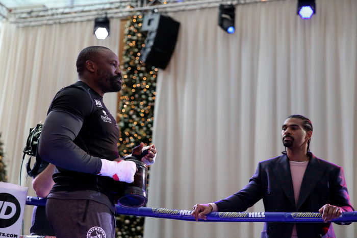 David Haye has praised Derek Chisora for how he has prepared for his fight against Oleksandr Usyk