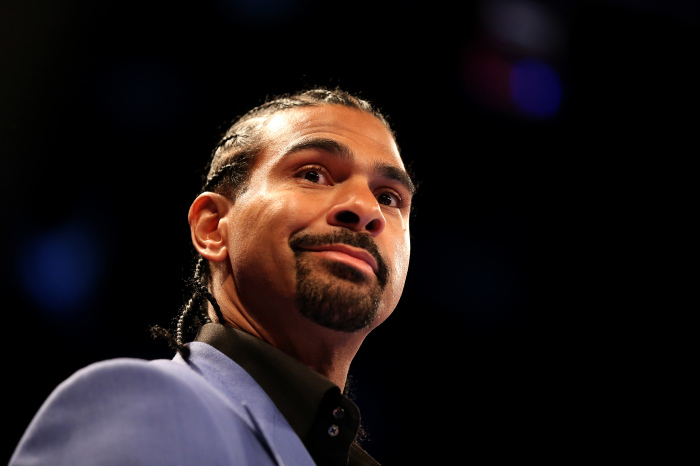 David Haye is backing a trilogy showdown between two former legends Mike Tyson and Evander Holyfield