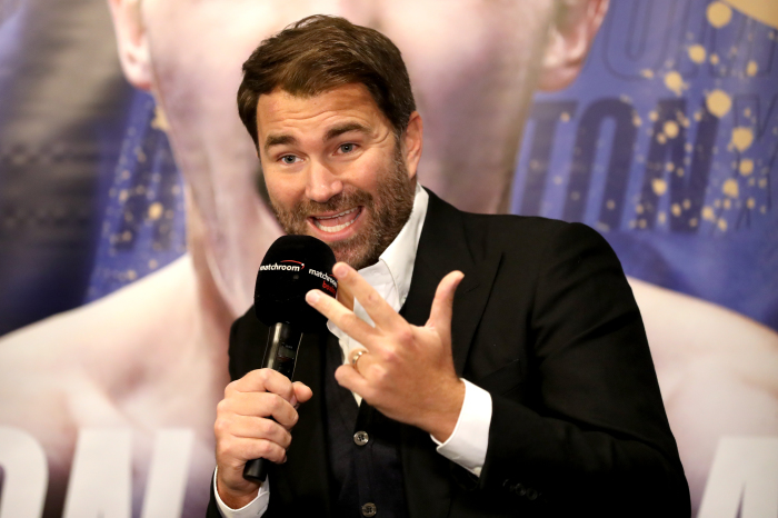 Eddie Hearn is one the world's leading boxing promoters