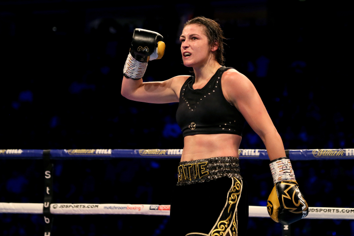 Katie Taylor remains world champion after outclassing Miriam Guiterrez