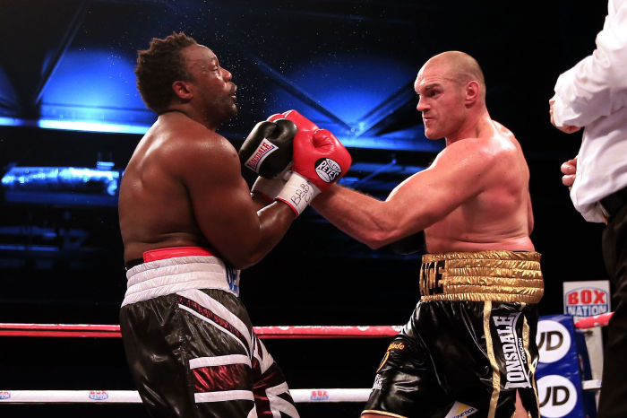 On this day in 2014: Tyson Fury beats Dereck Chisora in London