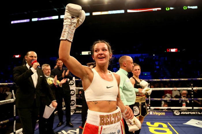 Terri Harper warns she is not the finished article ahead of world title defence
