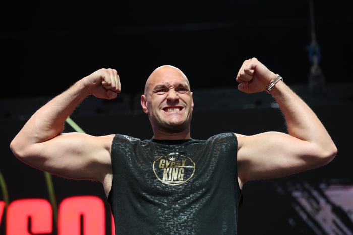 Tyson Fury announces London fight for December with opponent revealed 'soon'