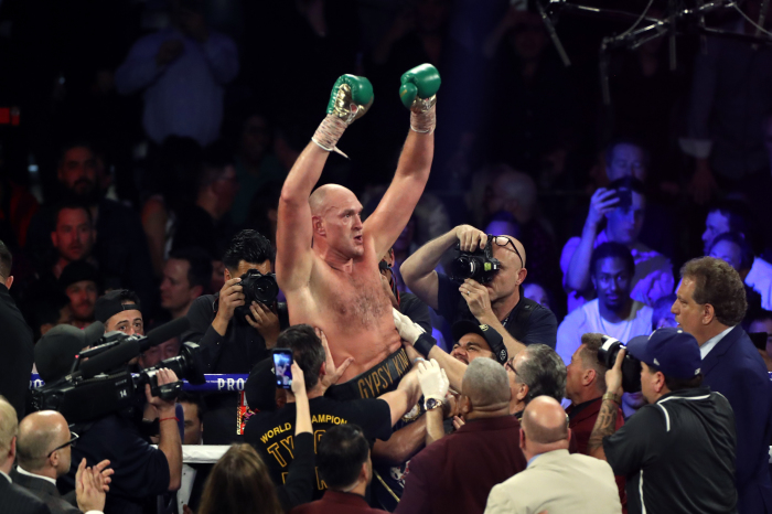 Tyson Fury predicts early knockout against 'not in form' Anthony Joshua