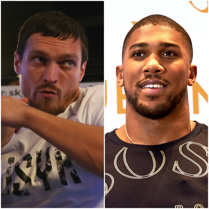 Anthony Joshua in Oleksandr Usyk's sights after Dereck Chisora win