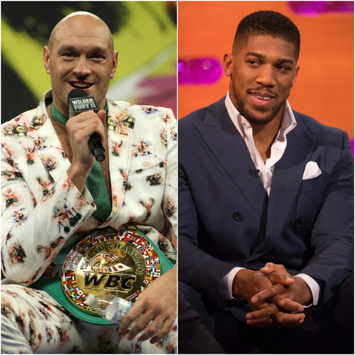 Tyson Fury warns Anthony Joshua he is 'only interested in smashing your face in'
