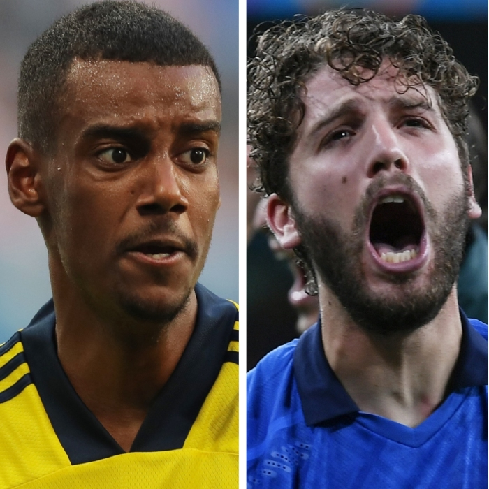 Alexander Isak proved a handful up front for Sweden and would be well suited to the Premier League