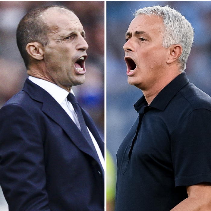 Massimiliano Allegri and Jose Mourinho go head to head this weekend